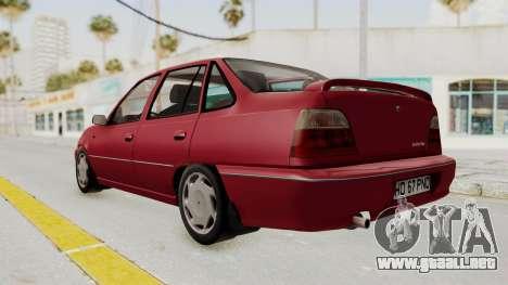 Daewoo Cielo 1.5 GLS 1998 para la visión correcta GTA San Andreas
