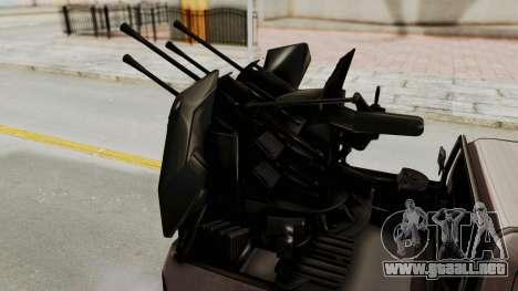 Toyota Hilux 2014 Army Libyan para visión interna GTA San Andreas