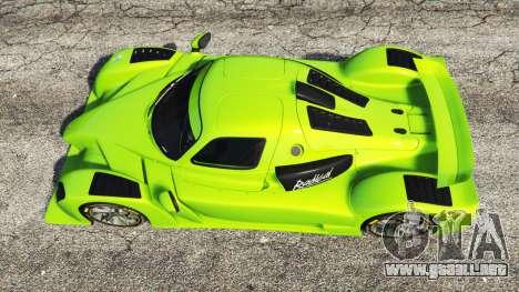 GTA 5 Radical RXC Turbo vista trasera