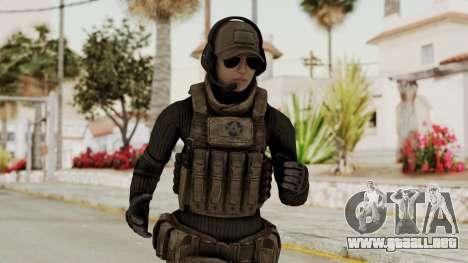 Phantomers Linda Sashantti Soldier para GTA San Andreas