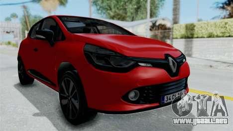 Renault Clio 4 HQLM para GTA San Andreas