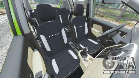 Dacia Sandero Stepway 2014 para GTA 5