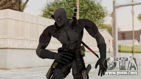 Black Deadpool para GTA San Andreas