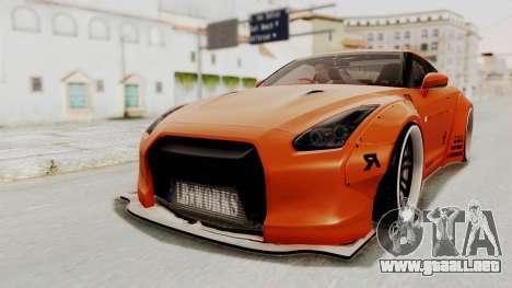 Nissan GT-R R35 Liberty Walk LB Performance para GTA San Andreas