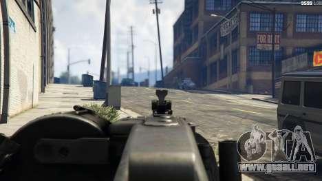 GTA 5 MG-42 quinta captura de pantalla