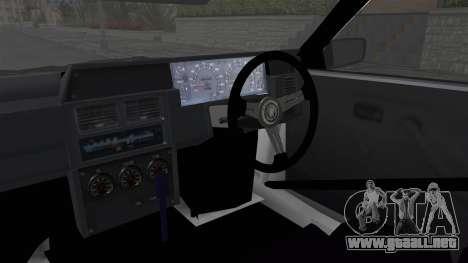 Nissan Skyline R31 para visión interna GTA San Andreas
