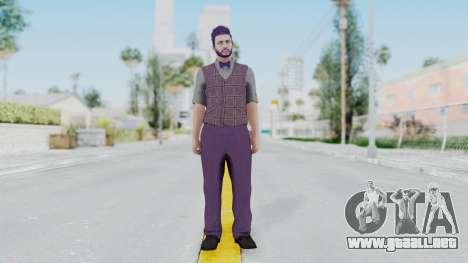 Skin de GTA 5 Online para GTA San Andreas segunda pantalla