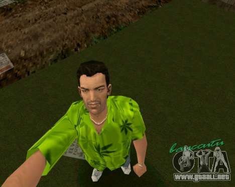 Weed T-Shirt para GTA Vice City