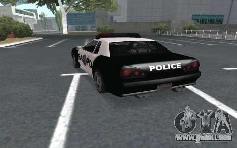 Elegy SAPD para GTA San Andreas left
