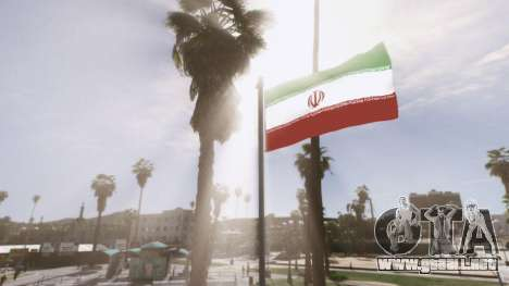 GTA 5 Iranian Flag cuarto captura de pantalla