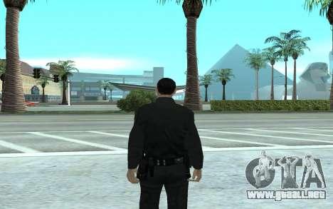 Los Santos Police Officer para GTA San Andreas segunda pantalla