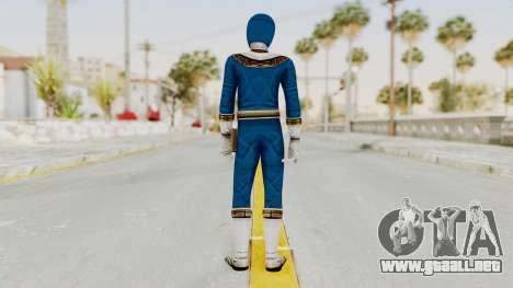 Power Ranger Zeo - Blue para GTA San Andreas tercera pantalla