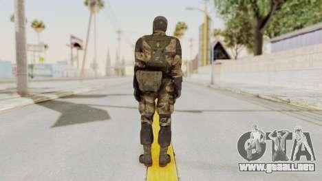 MGSV TPP Diamond Dog Combat Male para GTA San Andreas tercera pantalla