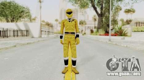 Alien Rangers - Yellow para GTA San Andreas segunda pantalla