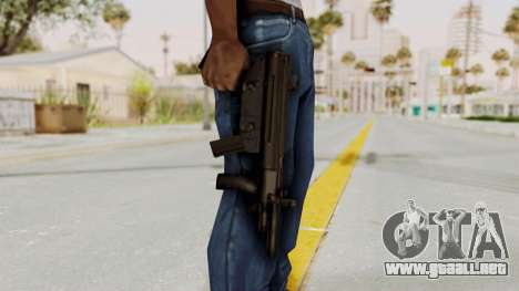 Liberty City Stories SMG para GTA San Andreas tercera pantalla