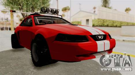 Ford Mustang 1999 Rusty Rebel para GTA San Andreas