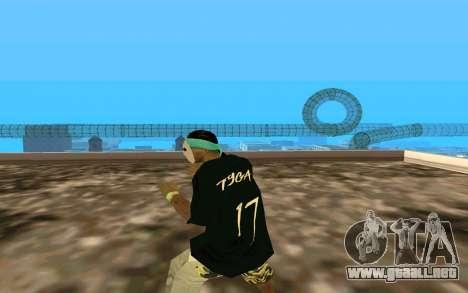 San Fierro Rifa Member para GTA San Andreas tercera pantalla
