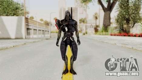 Mass Effect 2 Legion para GTA San Andreas segunda pantalla