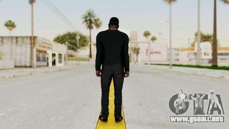 GTA 5 Franklin v1 para GTA San Andreas tercera pantalla