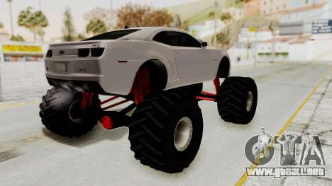 Chevrolet Camaro SS 2010 Monster Truck para GTA San Andreas left