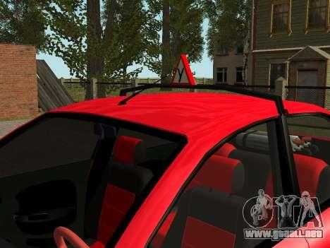 Daewoo Lanos (Sens) 2004 v1.0 by Greedy para GTA San Andreas interior