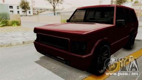 Huntley para la visión correcta GTA San Andreas