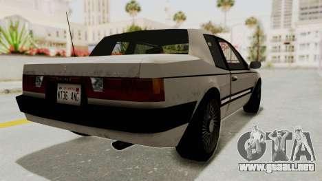 Imponte Bravura V6 Sport 1990 para GTA San Andreas left