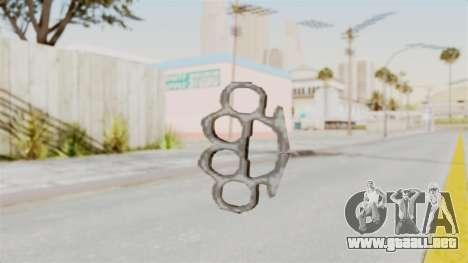 Metal Slug Weapon 5 para GTA San Andreas segunda pantalla