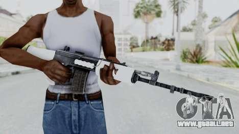 IOFB INSAS White para GTA San Andreas tercera pantalla