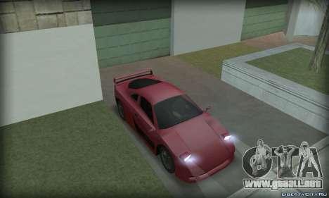 Ferrari F40 para la visión correcta GTA San Andreas