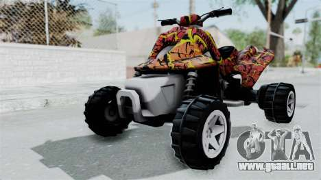 Sand Stinger from Hot Wheels Worlds Best Driver para GTA San Andreas