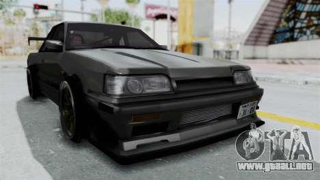 Nissan Skyline R31 para la visión correcta GTA San Andreas