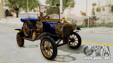 Ford T 1912 Open Roadster v2 para GTA San Andreas