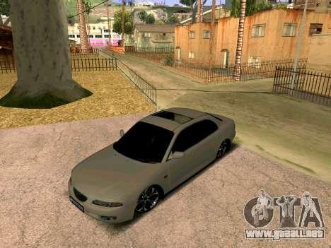 Mazda Xedos 6 para GTA San Andreas vista posterior izquierda