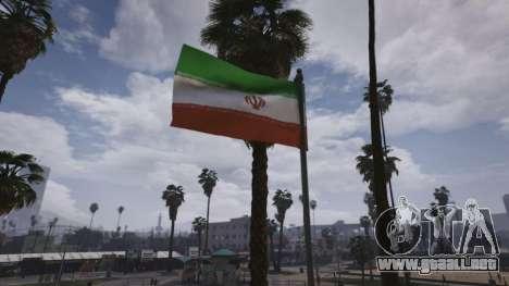 GTA 5 Iranian Flag sexta captura de pantalla