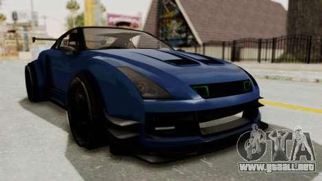 GTA 5 Annis Elegy Twinturbo Spec para la visión correcta GTA San Andreas