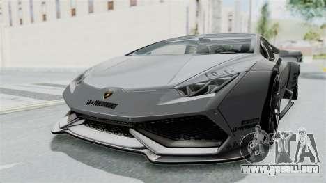 Lamborghini Huracan LP610-4 2015 Liberty Walk LB para la visión correcta GTA San Andreas