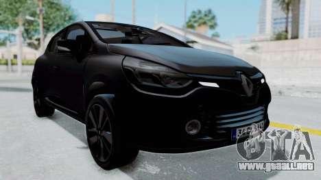 Renault Clio 4 IVF para la visión correcta GTA San Andreas