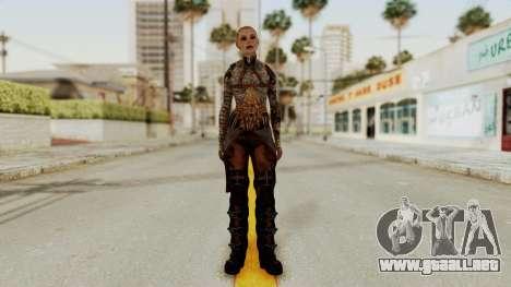 Mass Effect 2 Jack para GTA San Andreas segunda pantalla