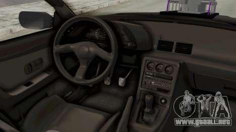 Nissan Skyline R32 4 Door Monster Truck para visión interna GTA San Andreas