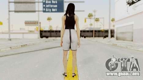 Mass Effect 3 Diana Allers para GTA San Andreas tercera pantalla