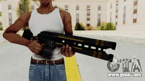 Railgun para GTA San Andreas tercera pantalla