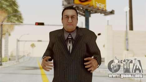 Taher Shah Black Suit para GTA San Andreas