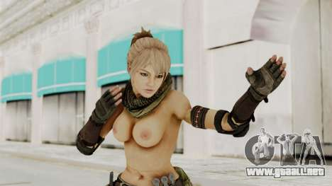 Victoria Kanayeva Nude from Phantomers para GTA San Andreas