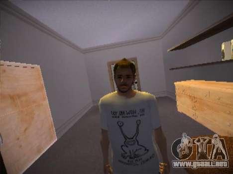 How are you T-Shirt para GTA San Andreas tercera pantalla