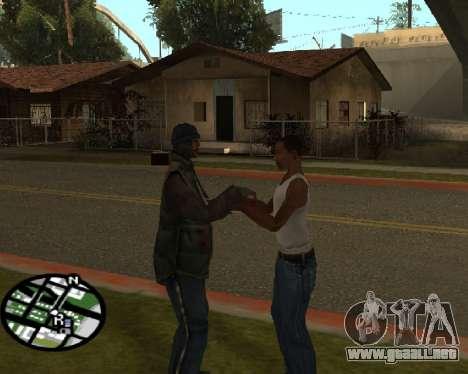 Gangster saludo para GTA San Andreas