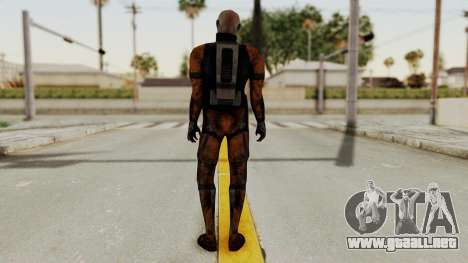 Mass Effect 2 Batarian para GTA San Andreas tercera pantalla