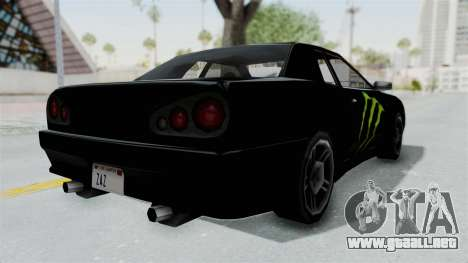 Monster Elegy para la visión correcta GTA San Andreas