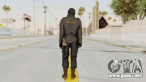 MGSV Phantom Pain Zero Risk Sniper para GTA San Andreas tercera pantalla