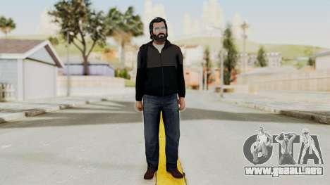 GTA 5 Michael v3 para GTA San Andreas segunda pantalla